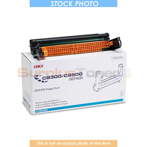 41963403 OKI C9300//9500DXN IMAGE DRUM CYAN