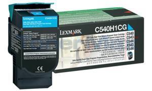 LEXMARK C540 C543 TONER CARTRIDGE CYAN RP 2K (C540H1CG)