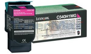 LEXMARK C540 C543 TONER CARTRIDGE MAGENTA RP 2K (C540H1MG)
