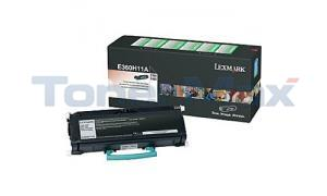 LEXMARK E360N TONER CARTRIDGE BLACK RP 9K (E360H11A)