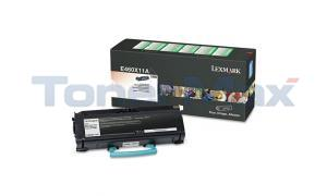 LEXMARK E460DN TONER CARTRIDGE BLACK RP 15K (E460X11A)