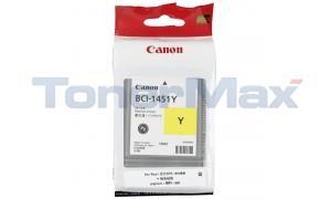 CANON BCI-1451Y YELLOW INK TANK 130ML (0173B001)