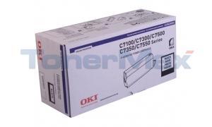 OKIDATA C7100/C7500 TYPE C4 TONER BLACK (41963004)