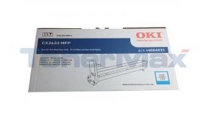 OKIDATA CX2633 MFP IMAGE DRUM KIT CYAN (44064031)