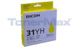 RICOH GX E5550N PRINT CARTRIDGE YELLOW 4.09K (405704)
