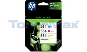 HP NO 564 INK CARTRIDGE COLOR COMBO PACK (CD994FN)