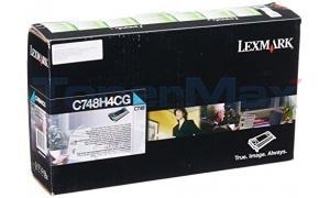 LEXMARK C748 RP TONER CART CYAN 10K TAA (C748H4CG)