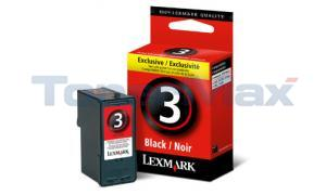 LEXMARK Z1380 NO 3 PRINT CARTRIDGE BLACK (18C1530)