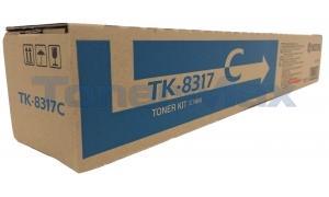 KYOCERA MITA TASKALFA 2550CI TONER KIT CYAN (TK-8317C)