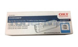 OKI CX2032 MFP TONER CARTRIDGE CYAN (43324476)