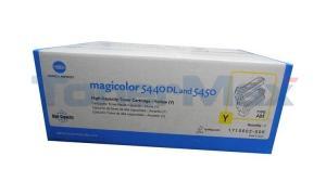 KONICA MINOLTA MAGICOLOR 5440DL TONER CTG YELLOW 12K (TYPE AM) (1710602-006)