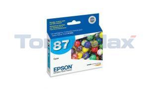 EPSON NO 87 INKJET CART CYAN (T087220)