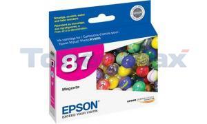 EPSON R1900 NO 87 INK MAGENTA (T087320)