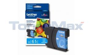 BROTHER DCP165C INK CARTRIDGE CYAN (LC61C)