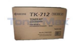 KYOCERA MITA FS-9130DN 9530DN TONER BLACK (TK-712)