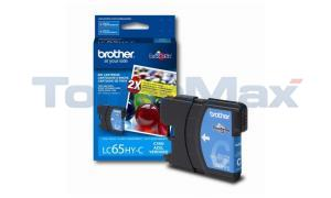 BROTHER MFC-5890CN INK CARTRIDGE CYAN HY (LC-65HYC)