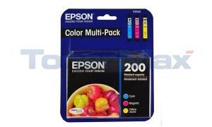 EPSON XP200/XP400 INK CARTRIDGE COLOR MULTI PACK (T200520)
