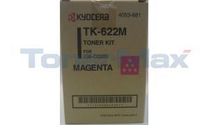 KYOCERA MITA KM-C2230 TONER MAGENTA (TK-622M)