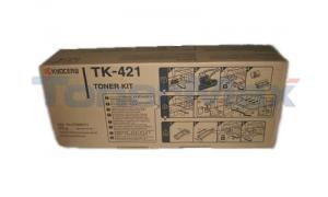 KYOCERA MITA KM-2550 SERIES TONER KIT BLACK (TK-421)