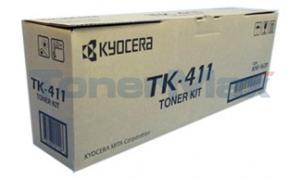 KYOCERA MITA KM-1620 TONER KIT BLACK (TK-411)