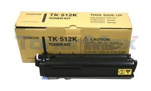 KYOCERA MITA C5020 5030 TONER KIT BLACK (TK-512K)