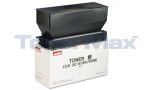MITA 5590 6090 COPIER TONER BLACK (37066011)