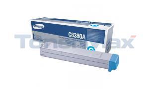 SAMSUNG CLX-8380ND TONER CART CYAN (CLX-C8380A/XAA)