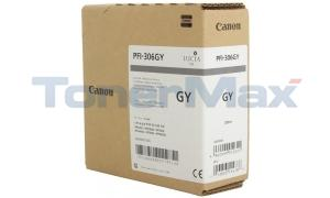 CANON PFI-306GY INK TANK GRAY PIGMENT 330ML (6666B001)