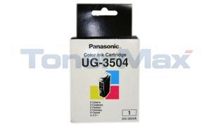 PANASONIC UF-342 344 INK CART COLOR (UG-3504A)