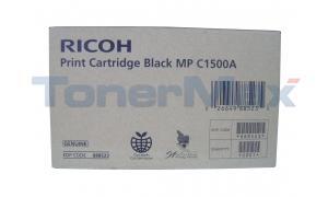 RICOH AFICIO MP C1500A PRINT CARTRIDGE BLACK (888523)