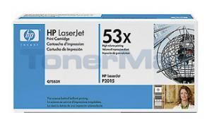 HP LASERJET P2015 PRINT CART BLACK (Q7553XD)