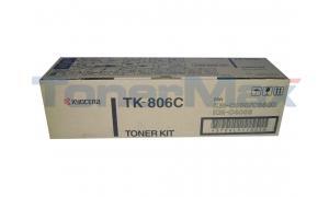 KYOCERA MITA KM-C850 TONER CYAN (TK-806C)