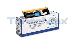 QMS MAGICOLOR 2400W 2430DL TONER CARTRIDGE CYAN (TYPE AM) (1710587-003)