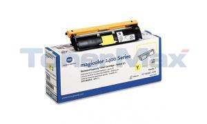 QMS MAGICOLOR 2400W 2430DL TONER CARTRIDGE YELLOW (1710587-001)