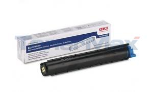 OKIDATA B2200 B2400 TONER CARTRIDGE BLACK (43640301)