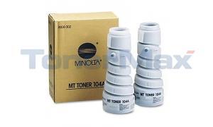 MINOLTA 1085 TONER BLACK (104A) (8936-302)