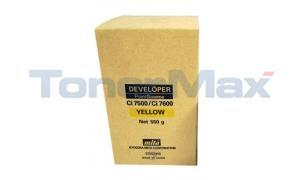 MITA CI-7500 DEVELOPER YELLOW (37087435)