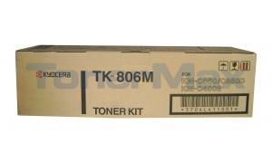 KYOCERA MITA KM-C850 TONER MAGENTA (TK-806M)