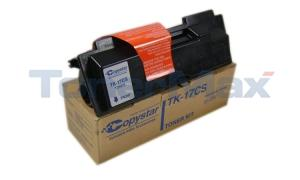 COPYSTAR CS-1500 TONER BLACK (TK-17CS)