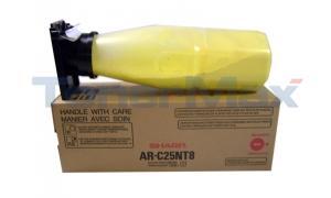 SHARP AR-C250 TONER YELLOW (AR-C25NT8)