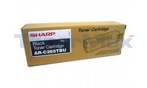 SHARP AR-C265 TONER CARTRIDGE BLACK (AR-C265TBU)