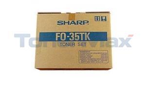 SHARP FO-3500 TONER SET BLACK (FO-35TK)