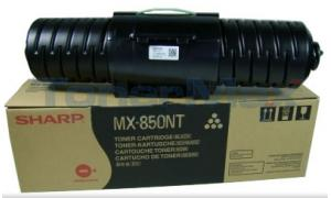 SHARP MX-850NT TONER CARTRIDGE BLACK (MX-850NT)