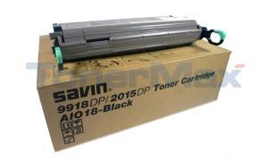 SAVIN 9918DP TONER CARTRIDGE BLACK (9845)