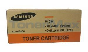 SAMSUNG ML6000 TONER CARTRIDGE BLACK (ML-6000D6)