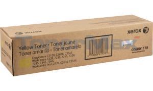 XEROX WORKCENTRE PRO C2128 3545 TONER YELLOW (6R1178)