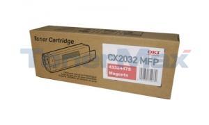 OKI CX2032 MFP TONER CARTRIDGE MAGENTA (43324475)