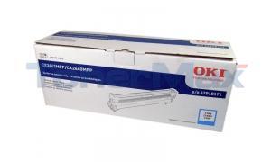 OKIDATA CX3641 MFP DRUM CARTRIDGE CYAN (42918171)