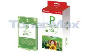 CANON SELPHY ES1 E-P100 PHOTO PACK COLOR 100 PHOTOS (1335B001)