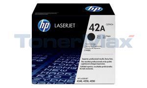 HP LASERJET 4240 4250 4350 GOV TONER BLACK 10K (Q5942AG)